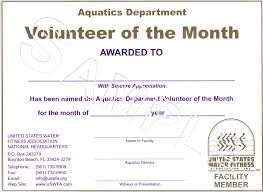 customer service award template community service award template