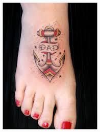 татуировка якорь