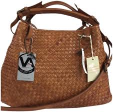 Designer Bags Made In Italy Valentina Crossbody New Italian Woven Designer Made In Italy Brown Genuine Leather Satchel 60 Off Retail