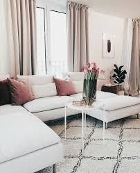 white apartment decor