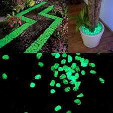 500 piece glow in the dark pebbles