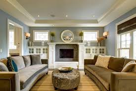 Living Room Ideas:Traditional Living Room Ideas Blue Wall Colour Combined  With Terrific Furniture Accessories
