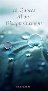 18 Quotes About Disappointment Resilient
