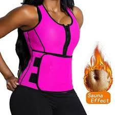 Florata Neoprene Sauna Suit Tank Top Vest With Adjustable Waist Trimmer Belt See The Size Chart R885 00 Lingerie Pricecheck Sa