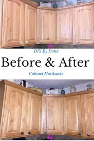 how to replace kitchen cabinet hardware diy diy blogger project kitchen