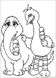 Small Picture Sesame Street 29 Coloring Page Free Sesame Street Coloring Pages