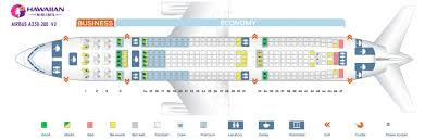 Hawaiian Airlines Flight 25 Seating Chart The Most Incredible Airbus A330 200 Seating Chart Seating