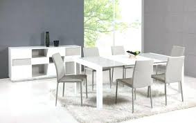 white dining table and chairs contemporary white dining room chairs modern white dining table and chairs