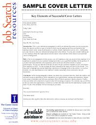 Cover Letter Elements Elements Of Good Cover Letter Key Job Application Format A Photos HD 1