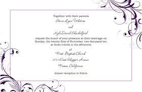 Free Invitation Design Templates Free Wedding Invitation Templates For Word Free Wedding Invitation 15
