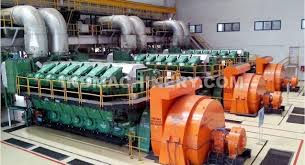 power plant generators. Diesel Power Plant 30 MW With MAN 3 X 12V48/60 Generators O