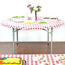 plastic elastic table covers plastic elastic table covers plastic table covers with elastic design depot white