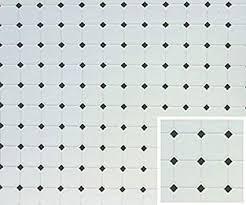 black and white diamond tile floor.  Black Dollhouse Miniature Diamond Tile Flooring In Black U0026 White For And Floor C