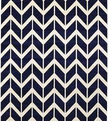 navy chevron rug 5 7 s es