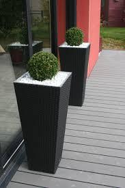 Terrasse Bois Composite Gris Anthracite Travertin De Marbre Blanc
