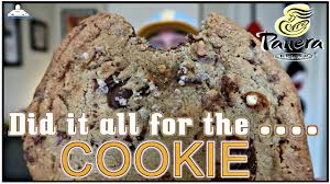 Panera Bread Kitchen Sink Cookie Review Theendorsement Youtube