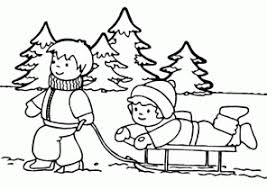 Small Picture Awesome Winter Coloring Pages For Kids Gallery Coloring Page