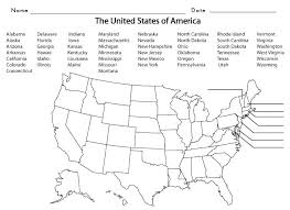 United States Map Coloring Page Charter Schools State Unique