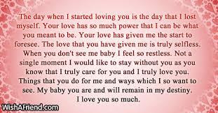 short love letters