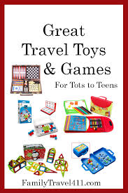 travel toys and games