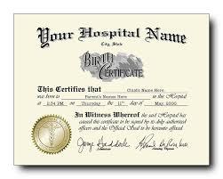 Fake Birth Certificates Starting As Low As 49 Each