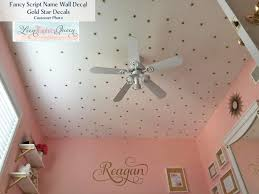 gold wall decals target dots bee pink