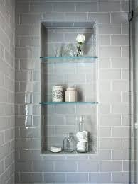 bathroom tile shelves prissy ideas bathroom shower