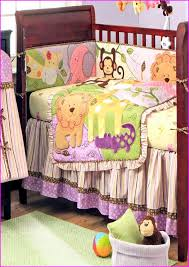 baby girl bedding sets purple and green