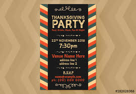 Event Flyer Enchanting Thanksgiving Event Flyer Layout 48 Buy This Stock Template And