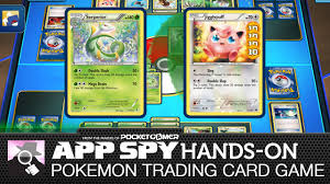 Pokemon Trading Card Game Online | iOS iPad Hands-On - AppSpy.com - YouTube
