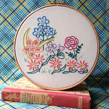 Small Picture Alices Garden Embroidery Pattern from Little Dorrit Co Sew