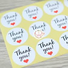 <b>120Pcs New</b> Thank You Red Heart <b>Handmade</b> Cake Packaging ...