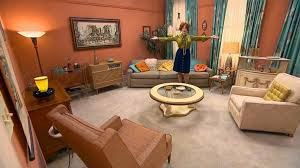 mad men furniture. First Of All: Those Coral Walls! They Look Kind Peachy In These Photos Mad Men Furniture I
