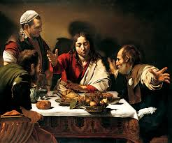 michelangelo merisi da caravaggio the supper at emmaus