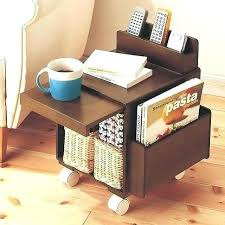 Living Room Magazine Holder Impressive Magazine Side Table Side Table With Shelves Side Table Magazine