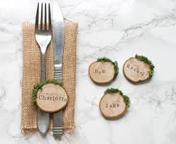 best 10 rustic place cards ideas on pinterest wedding place Rustic Wedding Place Card Ideas rustic wood slice and moss wedding place settings escort cards, perfect for an outdoor rustic wedding place card holders