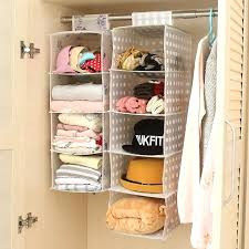 closet hanger organizer new designer waterproof wall hanging pocket organizer closet storage hanger whole 1 per closet hanger organizer