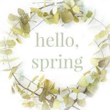 Spring Wreath Printable Green With Decor