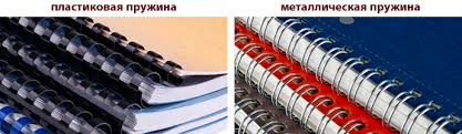 Твердый переплет и брошюровка срочный переплет в Беляево  Брошюровка на металлическую пружину