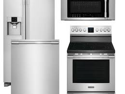 Black Kitchen Appliance Package Kitchen 4 Piece Stainless Steel Kitchen Appliance Package 00008
