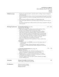 Cover Letter For Teller Position With Experience Resume Simple