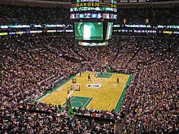 boston td garden. Celtics In A Game Vs The Minnesota Timberwolves At Then-TD Banknorth Garden Boston Td