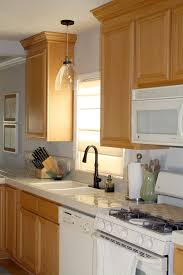 lighting above kitchen sink. over sink kitchen fabulous lighting above a