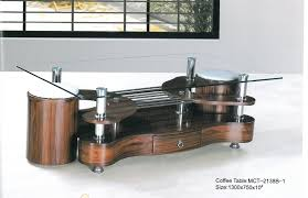 S Shaped Coffee Table Limit 2 Nothing Modern Glass Top Coffee Tables