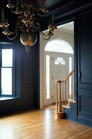 the makerista dining room black and blue farrow