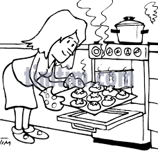 Small Picture Coloring Images Of Woman CookingImagesPrintable Coloring Pages