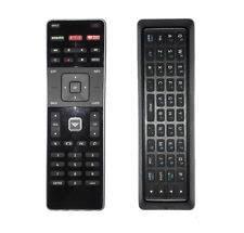 vizio tv remote with keyboard. vizio qwerty dual side xrt500 led hdtv remote control with keyboard back-light vizio tv d