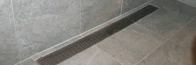 wedgewire linear shower drains wedgewire shower drains s luxe linear drains