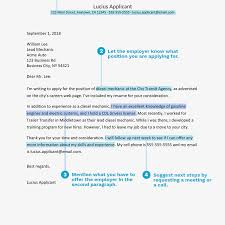 Components Of A Good Cover Letter Resume What To Include In The Body Section Of Cover Letter