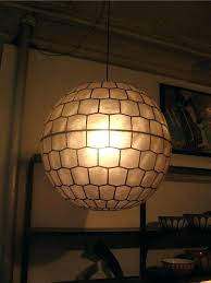 capiz hanging lamp faceted pendant always liked